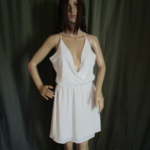 Charming Charlie Dress White Size Small